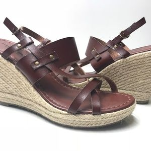 American Eagle Outfitters NEW Ankle Strap Cork